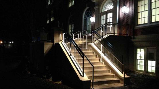 Bucknell Univ – Illuminated Handrail - Lewisburg, PA