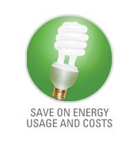Energy Savings with LED Light Bulb