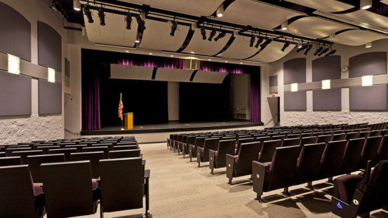 Interior LED Lighting at St Mary's Highschool - West Virginia
