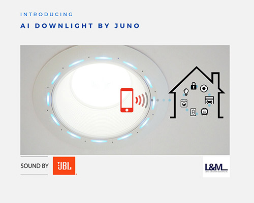 AI Downlight Juno new led lighting product ad