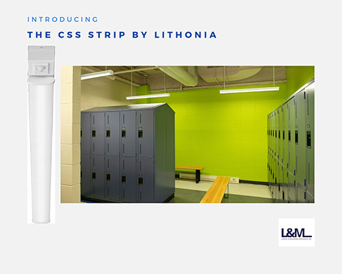CSS Strip Lithonia new led lighting product ad