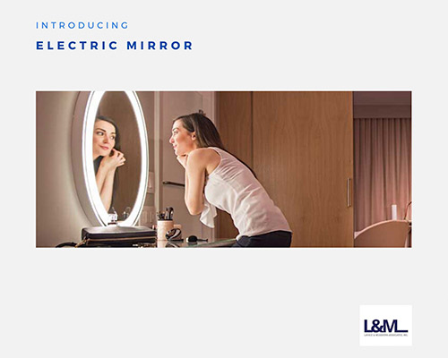 Electric Mirror new led lighting product ad