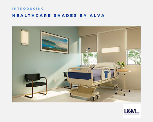 Healthcare Shades Alva new led lighting product ad