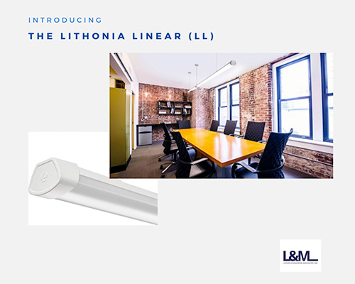 Lithonia Linear new led lighting product ad
