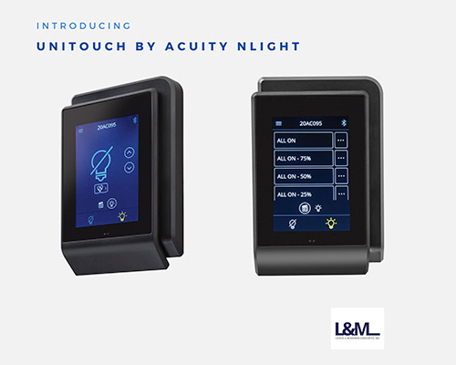 Unitouch Acuity Nlight new led lighting product ad