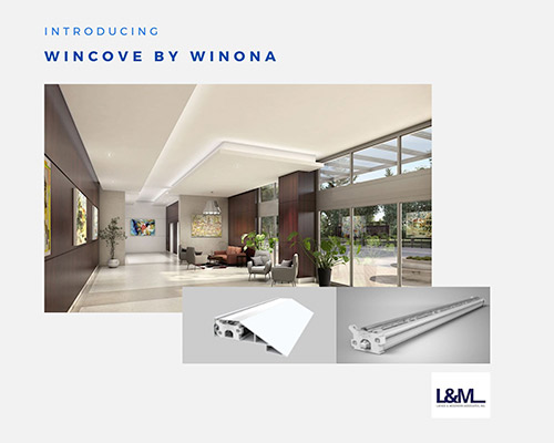 wincove by winova new led lighting product ad