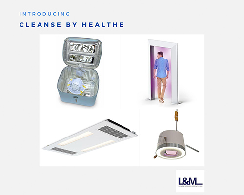 Cleanse Healthe new led lighting product ad