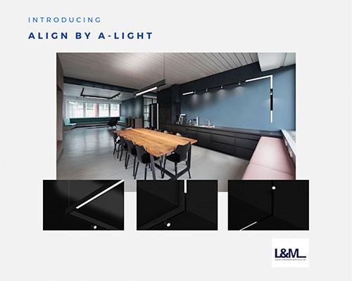 Align A-Light lighting ad