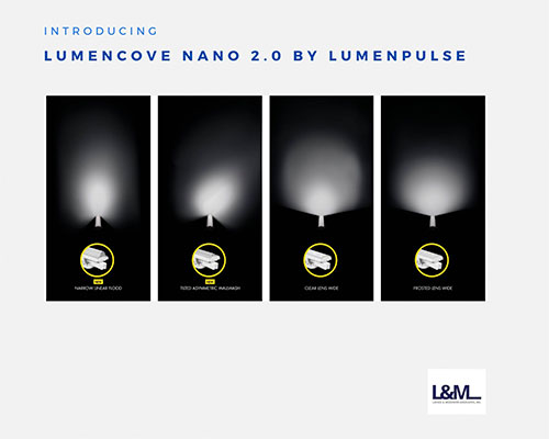 Lumencove Nano 2.0 by Lumenpulse light ad