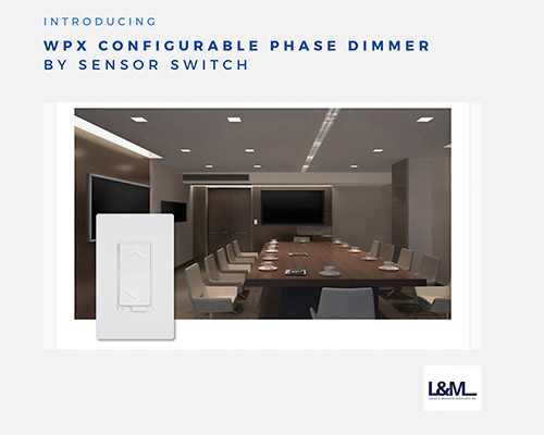 wpx configurable phase dimmer switch lighting new product promo