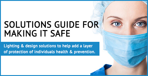 solutions guide image with nurse wearing mask pittsburgh, pa