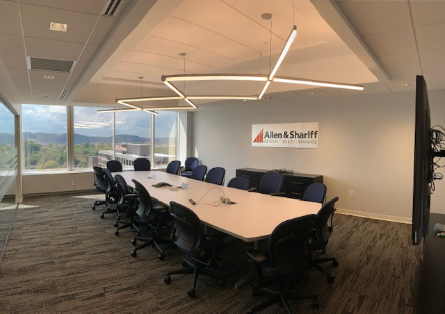 Allen and Shariff Engineering conference room office in PA