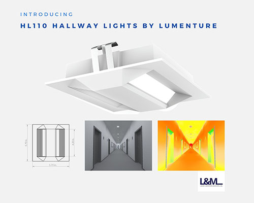 HL110 Hallway Lights by Lumenture Lighting ad