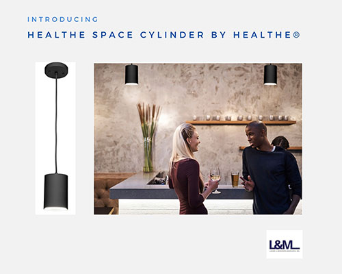 Healthe Space Cylinder by Healthe Lighting ad