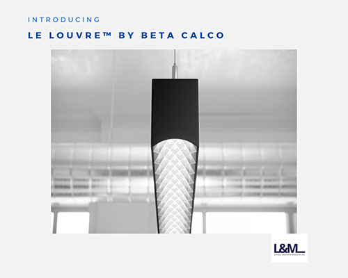 Le Louvre by Beta Calco Lighting ad