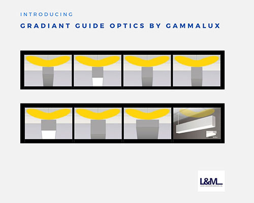 Gradiant Guide Optics by Gammalux Lighting ad