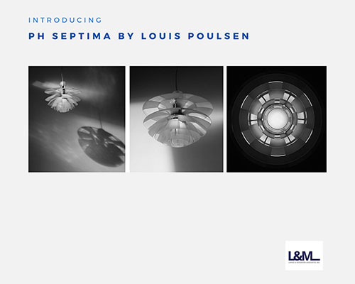 Ph Septima by Louis Poulsen Lighting ad