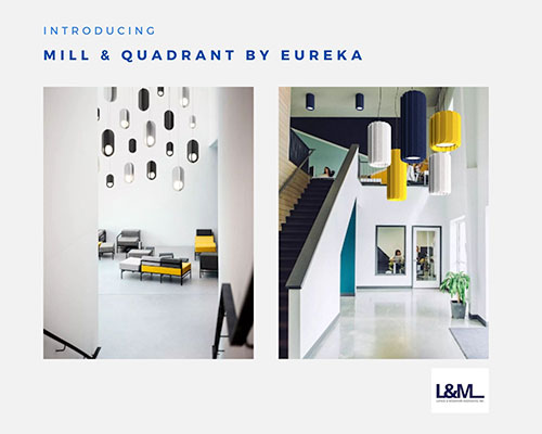 mill quadrant by eureka lighting advertisement