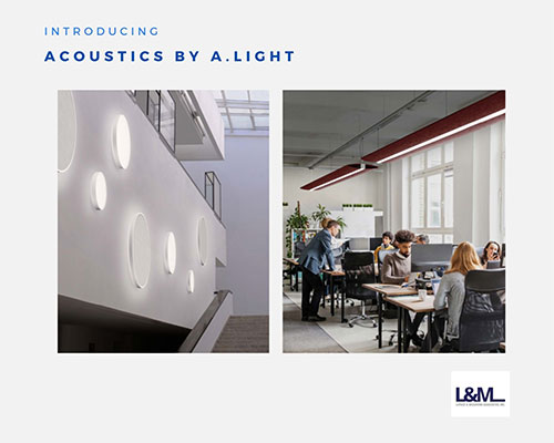 acoustics by A Light lighting ad