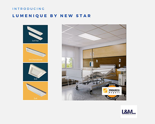 Lumenique by new star lighting ad