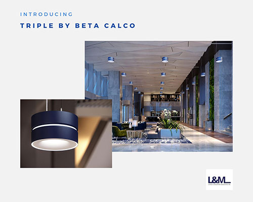 triple beta by calco lighting ad