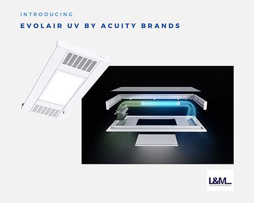 evolair uv lighting by acuity brands ad