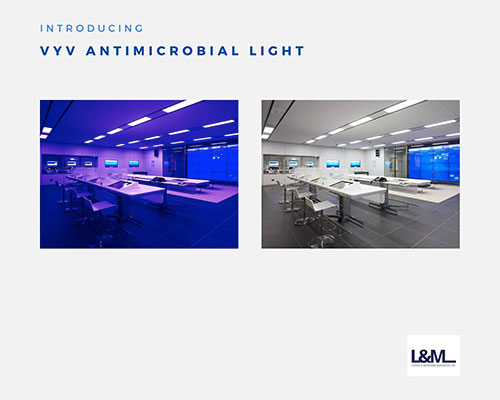 vyv antimicrobial lighting systems ad