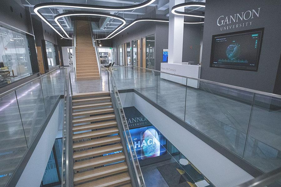 ihack gannon university, interior