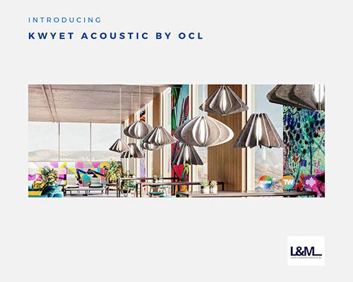 kwyet acoustic OCL lighting ad
